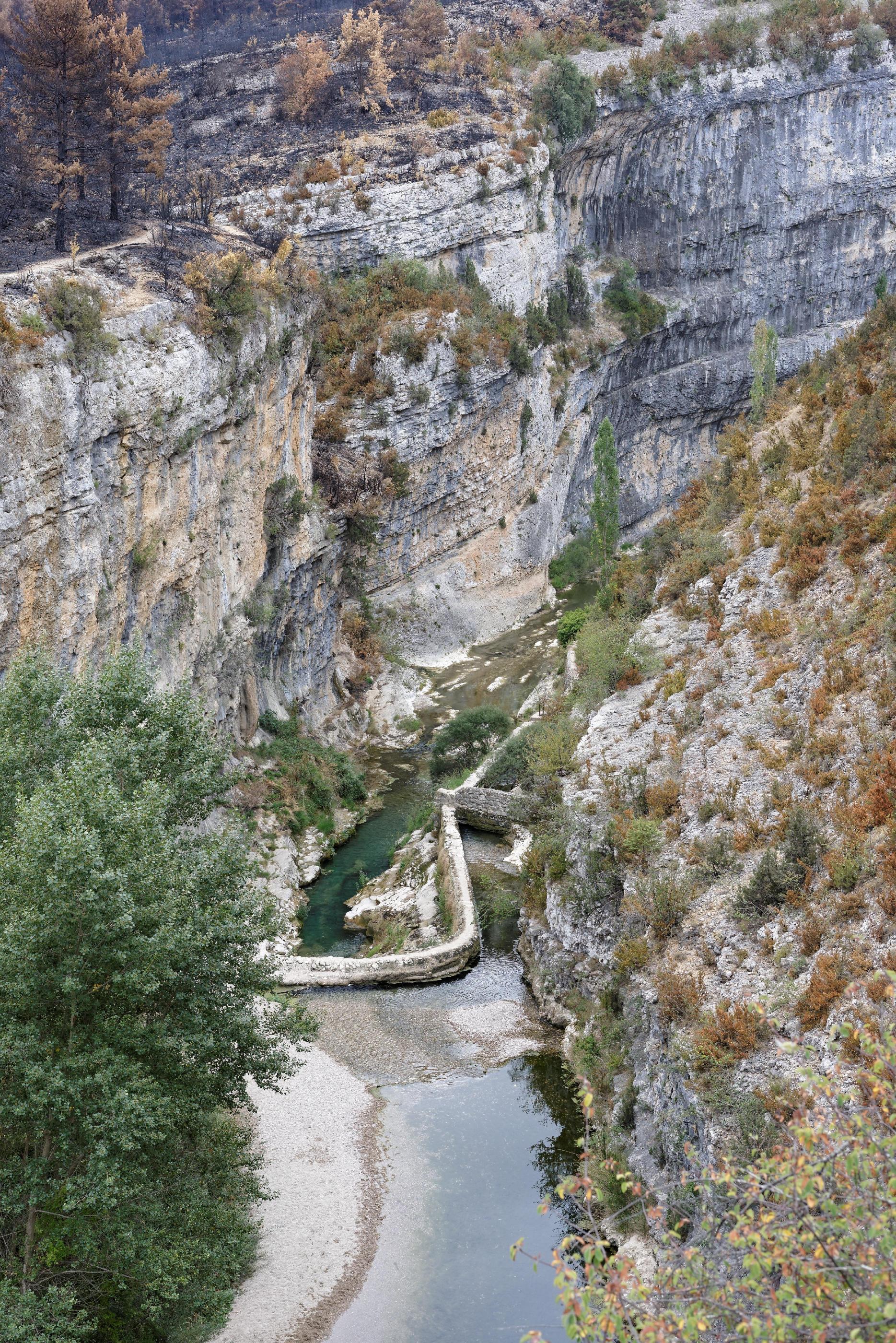 160909-lecina-marche-canyon-del-rio-vero-puente-de-villacantal-sierra-de-guara-aragon-16
