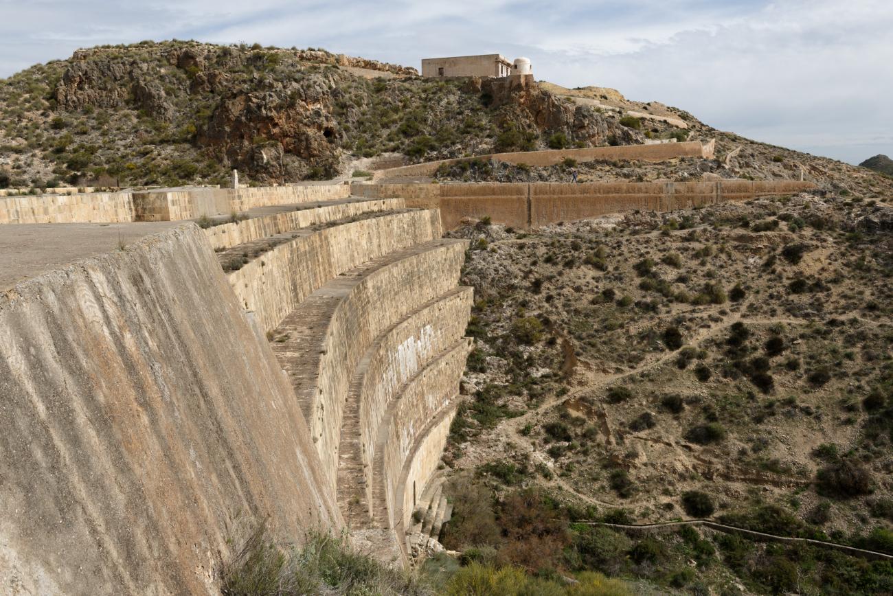 180314-1-Barrage 19eme Embalse Isabel II (Sierra Alhamilla-Andalousie) (15)