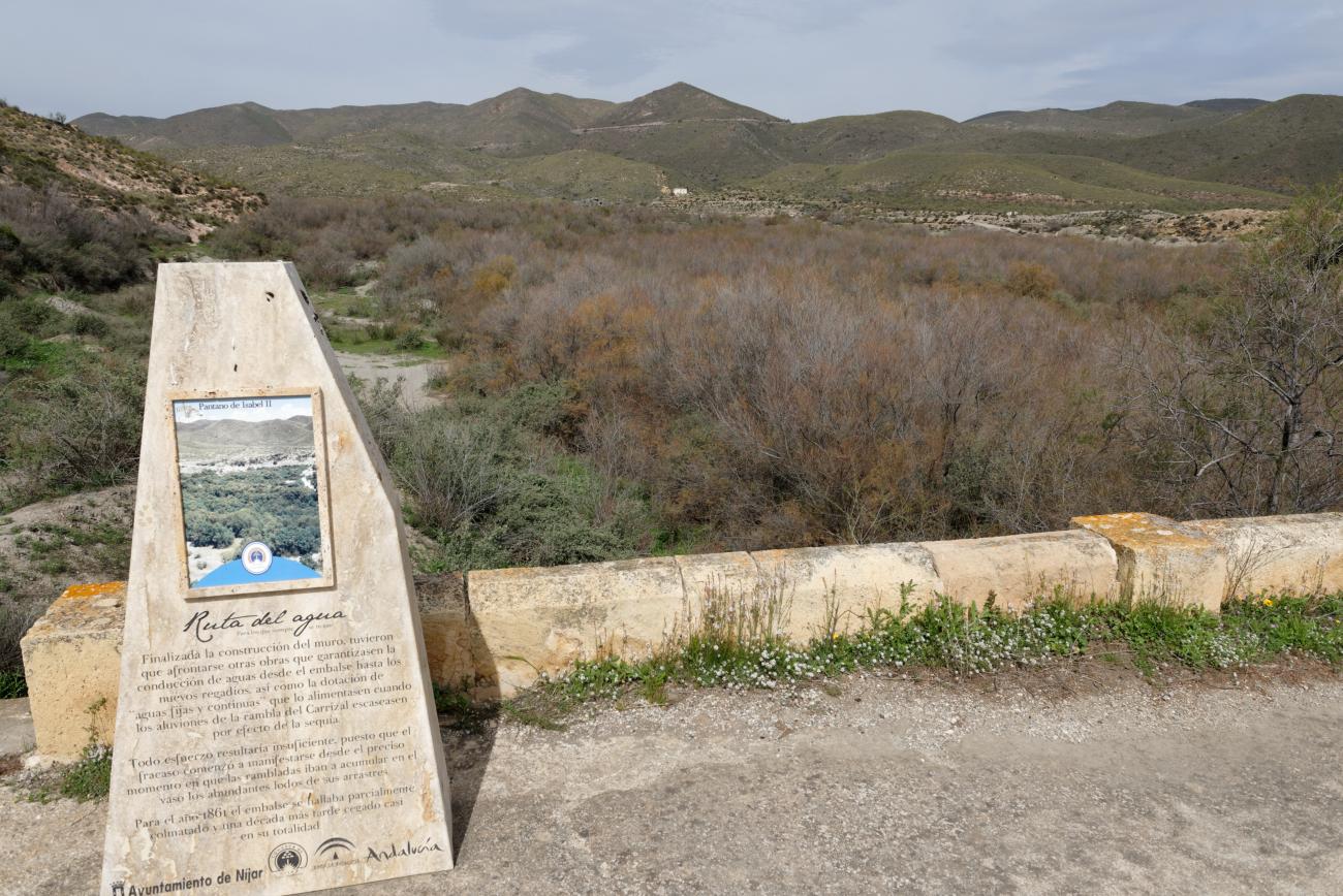 180314-1-Barrage 19eme Embalse Isabel II (Sierra Alhamilla-Andalousie) (17)