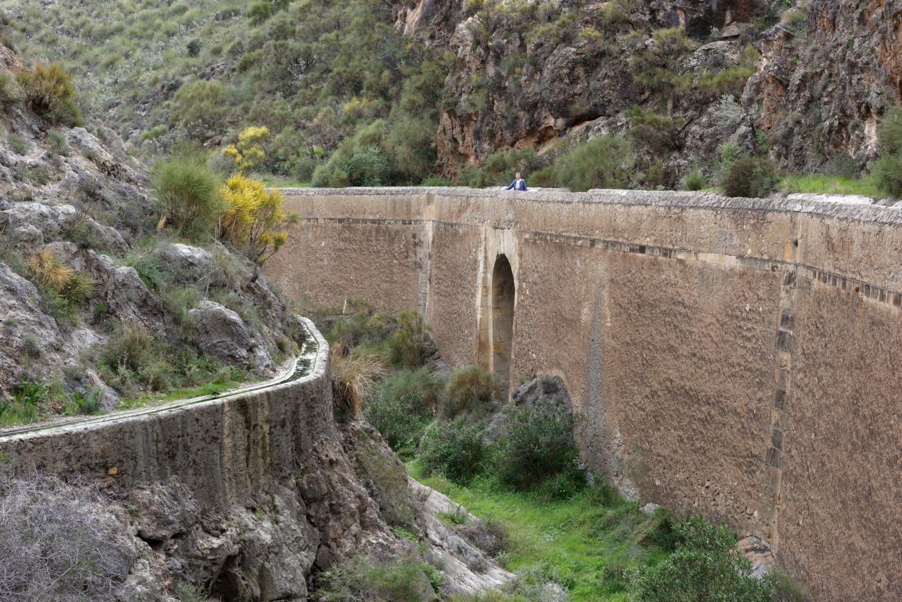 180314-1-Barrage 19eme Embalse Isabel II (Sierra Alhamilla-Andalousie) (35)