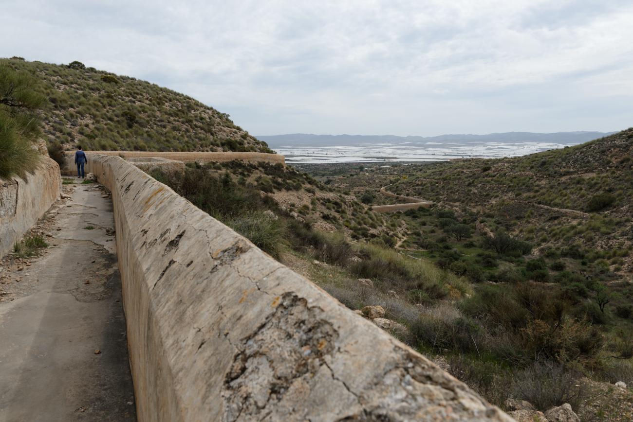 180314-1-Barrage 19eme Embalse Isabel II (Sierra Alhamilla-Andalousie) (44)