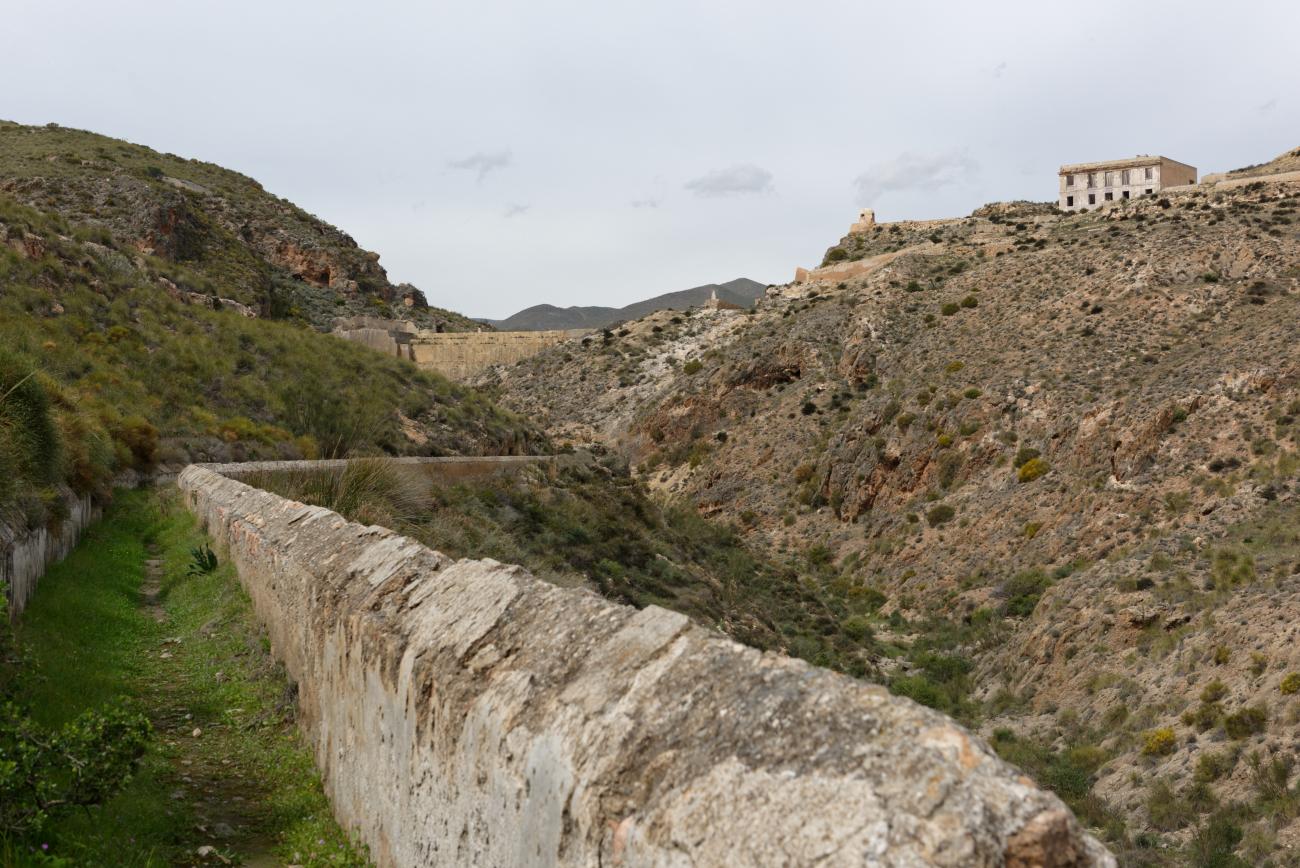 180314-1-Barrage 19eme Embalse Isabel II (Sierra Alhamilla-Andalousie) (49)