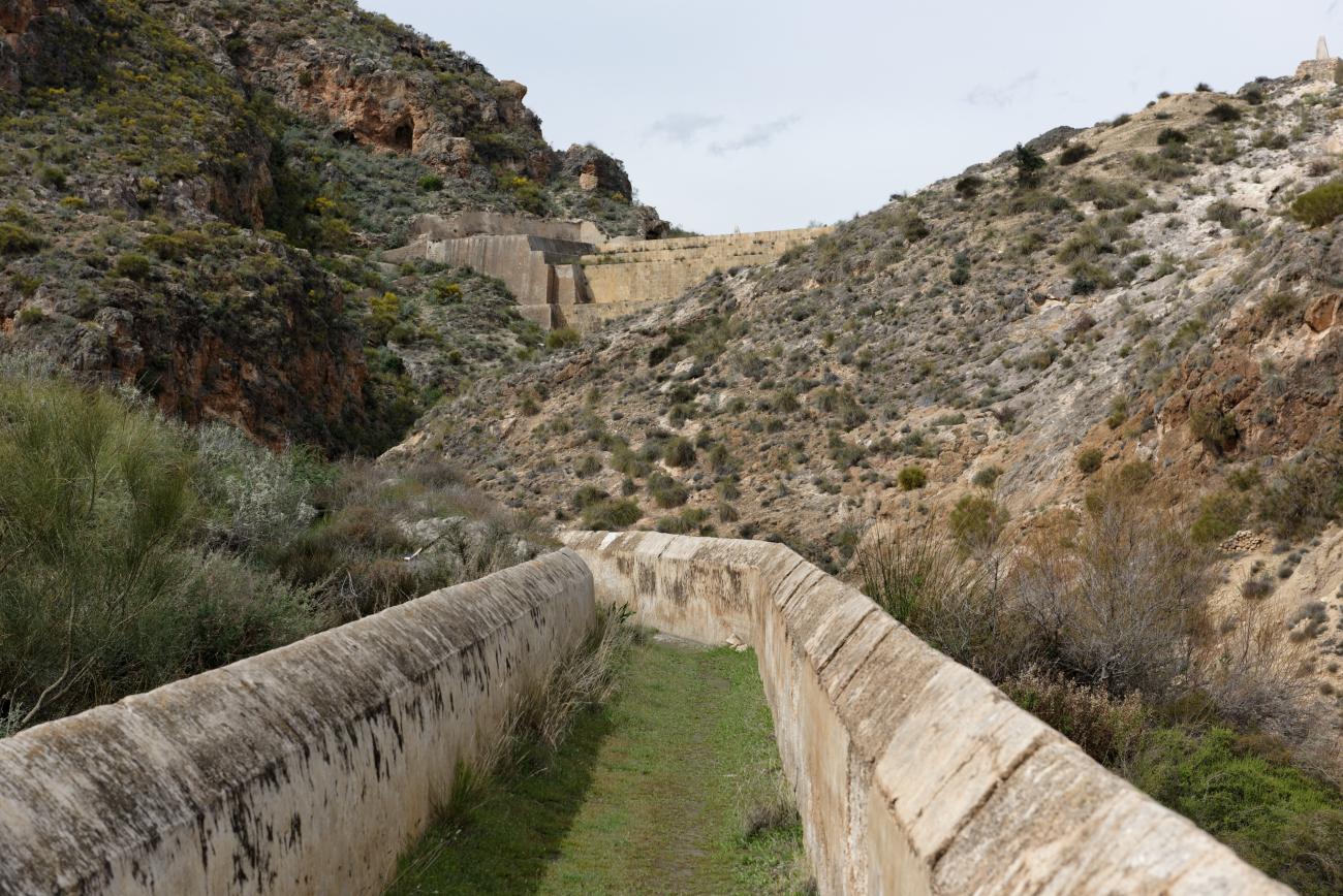 180314-1-Barrage 19eme Embalse Isabel II (Sierra Alhamilla-Andalousie) (50)
