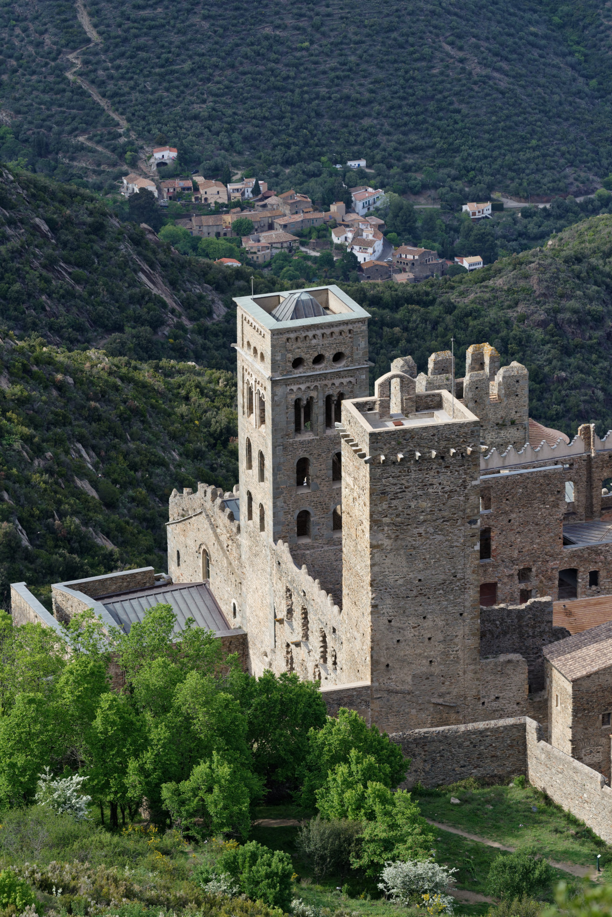 180430-3-Monestir de sant Pedre de Rodes (37) (Catalogne-Espagne)