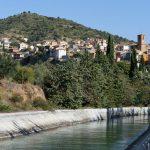 170928-(101) El Grado et son pont canal (Aragon-Somontano)