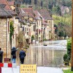 200203-(14) La Roque Gageac sous les eaux (Dordogne)