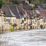 200203-(18) La Roque Gageac sous les eaux (Dordogne)