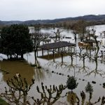 200203-(39) La Roque Gageac sous les eaux (Dordogne)