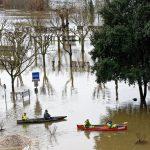 200203-(46) La Roque Gageac sous les eaux (Dordogne)