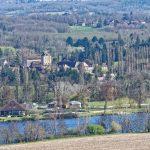 210320-(33) Vue du rocher du corbeau (Cingle de Trémolat - Dordogne)