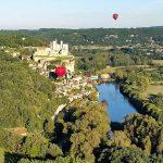 210922-(63) En Montgolfière sur la Dordogne (Périgord noir)